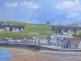 Cullen, Moray - acrylic - private collection
