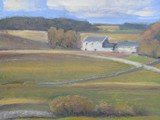 The White House - a Galloway landscape - oil